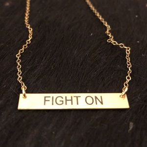Jewelry - Fight On Necklace